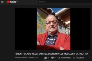 """RUBEN """"POLACO"""" REGO. CAP 3. LA ECONOMIA, LOS MODELOS Y LA POLITICA"""