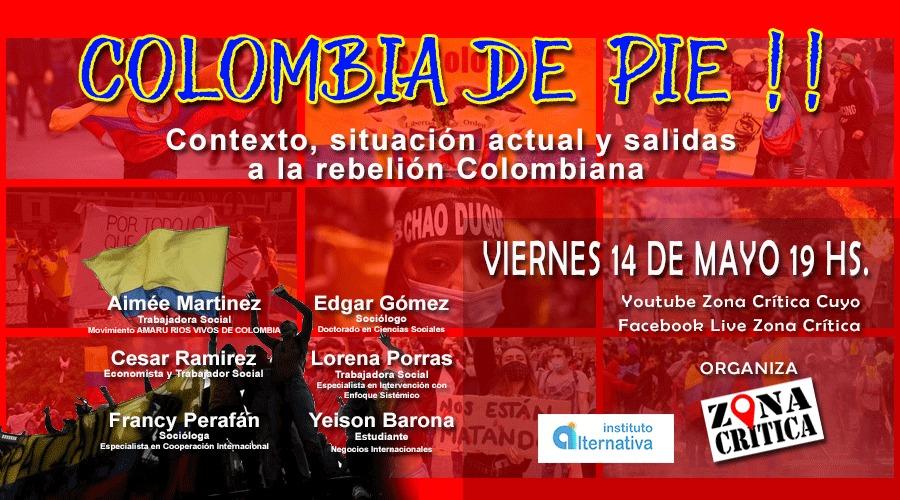 COLOMBIA DE PIE-CONVERSATORIO PÚBLICO